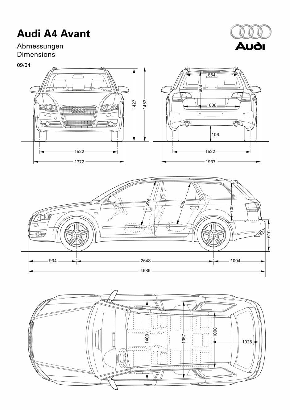2007 Audi A4 B7 Avant Samochody Osobowe W Encyklopedia