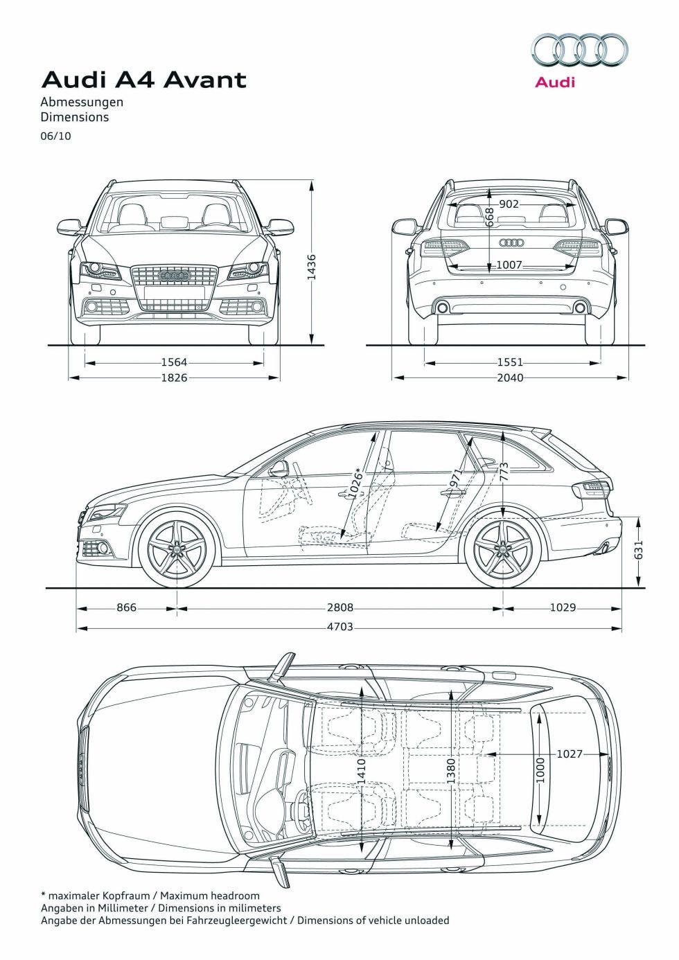 2008 2015 Audi A4 B8 Avant Samochody Osobowe W Encyklopedia