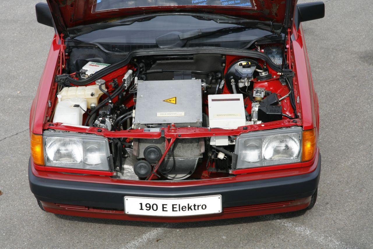 Elektryczna wersja Mercedes-Benz 190 (W201)